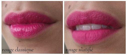 Photos de rouge à lèvres mat